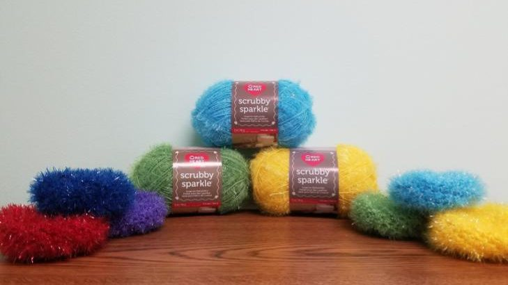 My Favorite Scrubby Pattern A Yarn Review Going Slightly Mad Enchanting Scrubby Yarn Knit Patterns